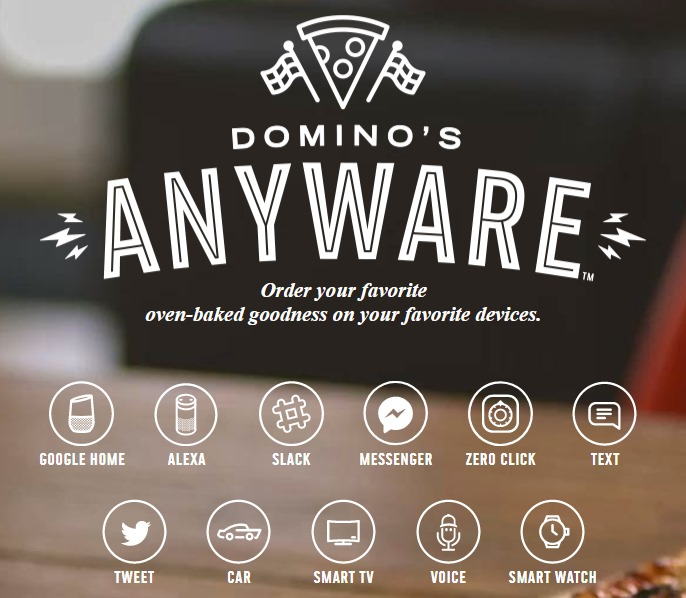 Innovation in Digital Transformation - Domino's Anyware