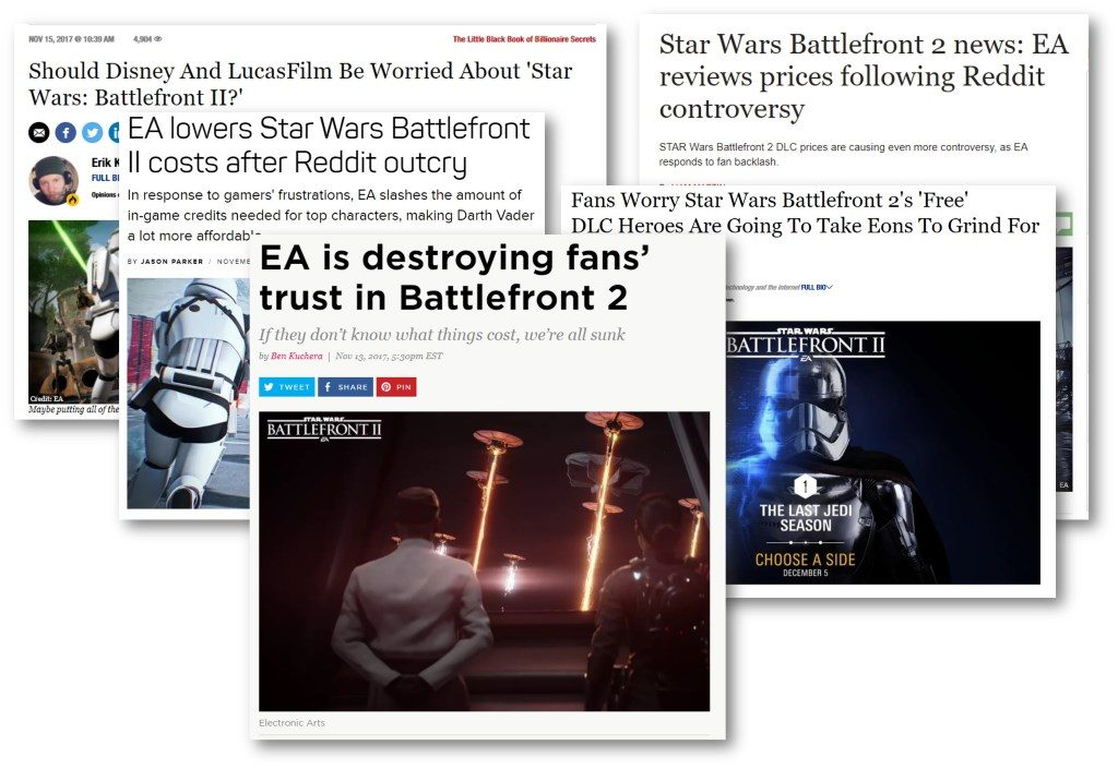 EA crowdsourcing failure_battlefront_headline_collage