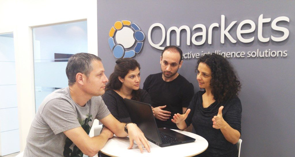 Qmarkets Team Discuss Crowdsourcing, Creativity and innovation management