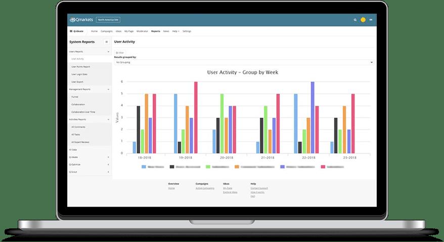Q-ideate - Qmarkets Internal Idea Management Software