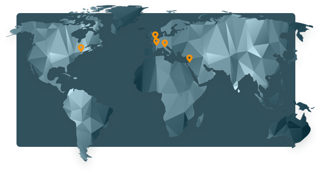 Innovation Software Company - map